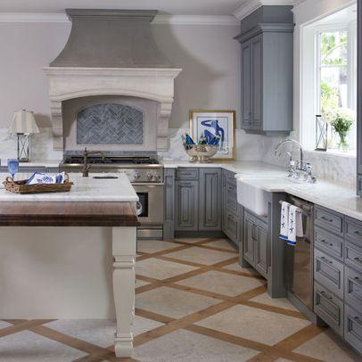 French Farmhouse Style Kitchens Pinterest