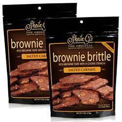 salted caramel brownie brittle. YES. | diabetes. | Pinterest