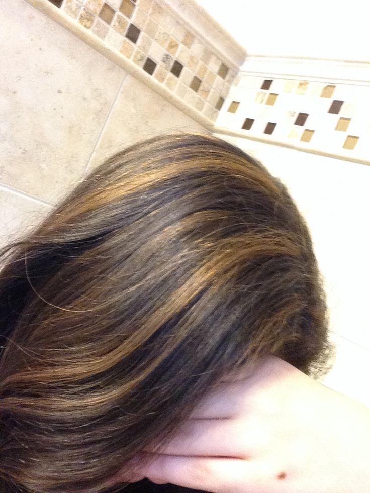 Brown with burnt honey highlights   Hair   Pinterest