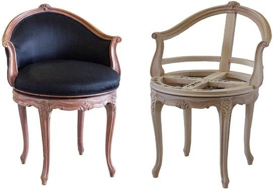 Rococo swivel vanity chair i like that this chair swivels but 2 300
