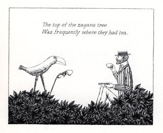 he Norton Museum of Art opens it s summer exhibition schedule on the evening of June 7, 2012 with Elegant Enigmas: The Art of Edward Gorey. Gorey is among the rare breed of artist whose work is as much beloved by children as it is by adults.