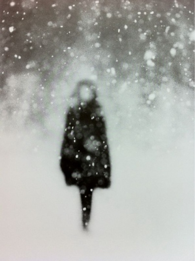 Snow...ghostly