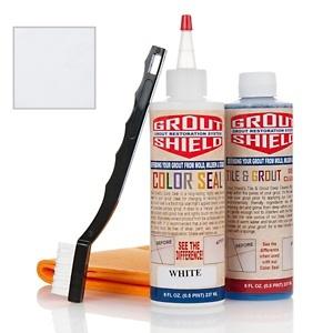 Grout Shield Color-Seal Grout-Restoration Kit at HSN.com.