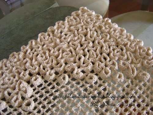Wiggly crochet