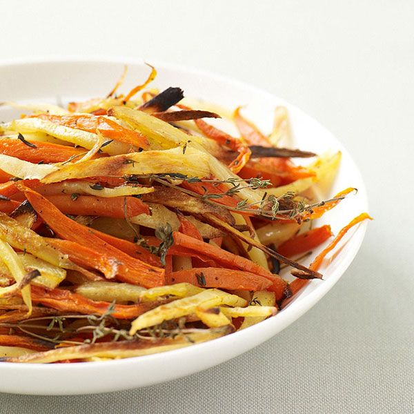 Roasted Carrots and Parsnips | Meal Ideas | Pinterest