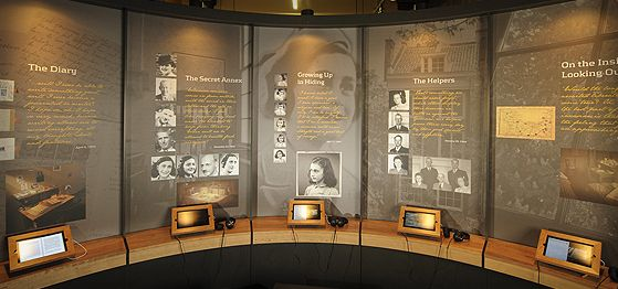 Anne Frank Museum Anne Frank House Pinterest