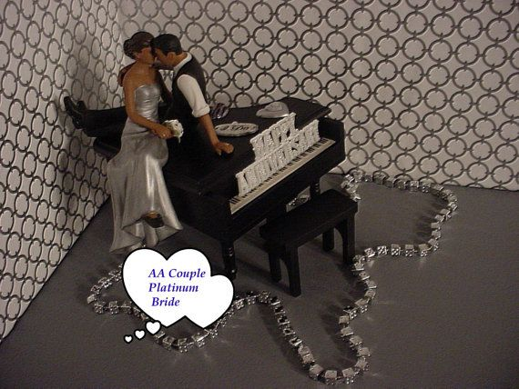 Black Baby Grand Piano Music Lover African American Couple Look Of Lo