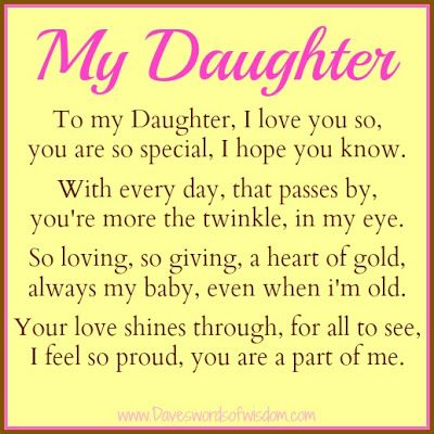 Proud Of Daughter Quotes. QuotesGram I Am Proud Of My Daughter Quotes