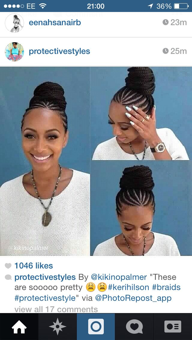 Y she look good in everything!!! Keri hilson love the braids