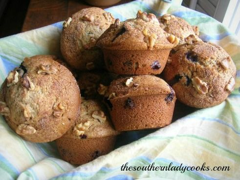 These blueberry muffins are wonderful. This makes a big muffin and is ...