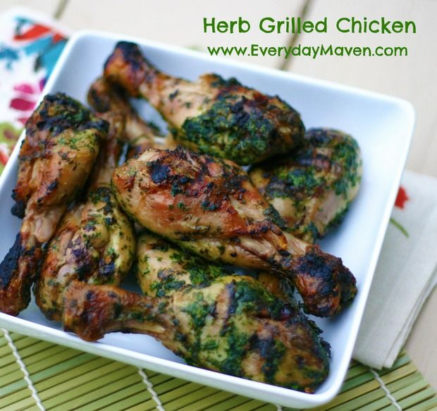 Herb Marinated Grilled Chicken 5 Points Plus Per Serving