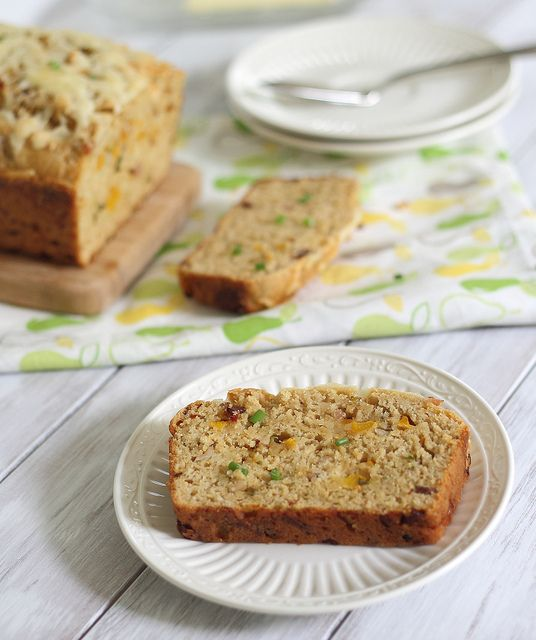 Loaded Cheddar Bacon Bread | Recipe