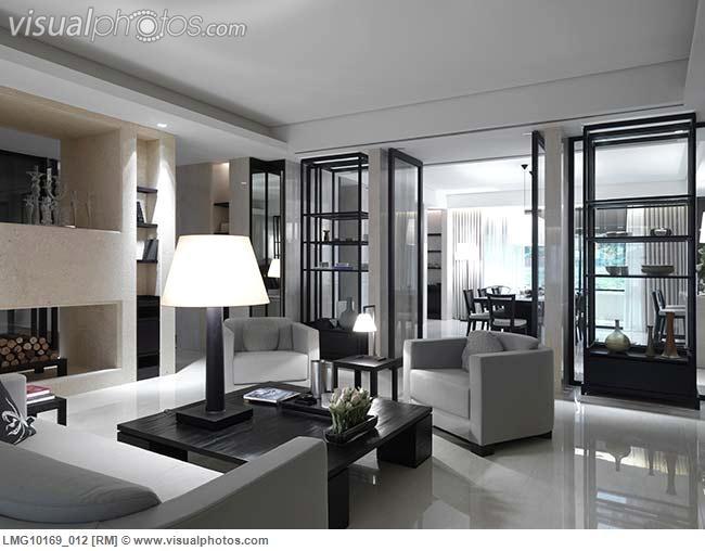 Contemporary neutral living room design pinterest