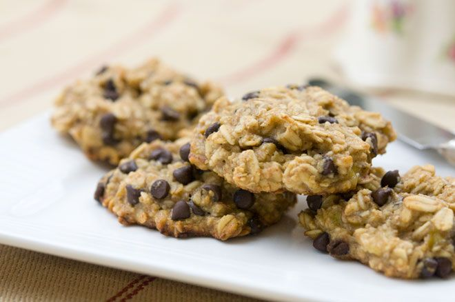 Banana, Oatmeal, & Chocolate Chip Cookies - Vegan, Gluten-free, Soy ...
