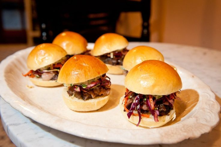 This recipe makes two dozen succulent pork belly sliders, perfect for ...