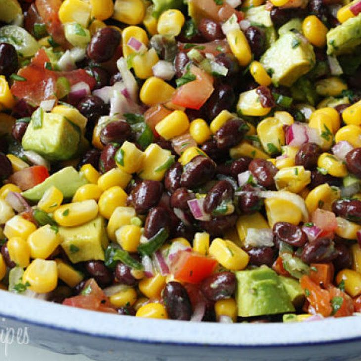 Southwestern Black Bean Salad II Recipe | Healthy Eats | Pinterest
