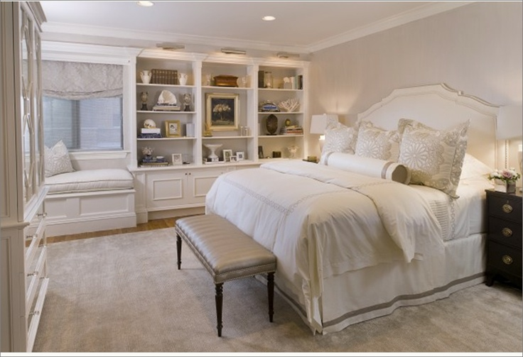 All white bedroom ideas master pinterest for All white bedroom furniture