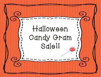 Halloween candy gram sale happy harvest pinterest