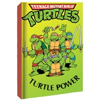 TMNT Turtle Power Hardcover Journal  http://www.retroplanet.com/PROD/33495