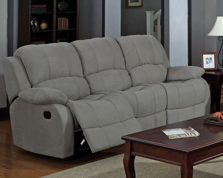 Grey Microfiber Reclining Sofa House Pinterest : 989ec27e12ec15a68a986fcc4f356f31 from pinterest.com size 736 x 588 jpeg 102kB