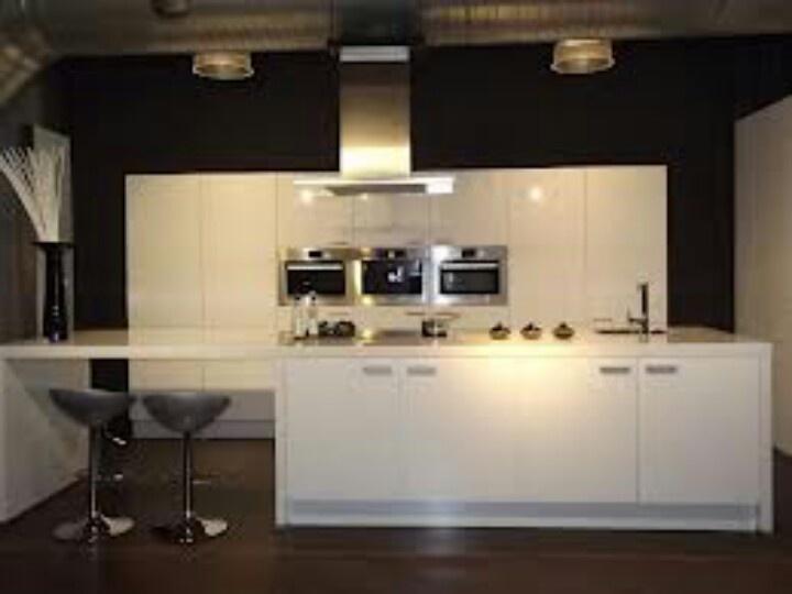 Keuken Met Kookeiland Afmetingen : Kookeiland Keukenideeetjes Pinterest