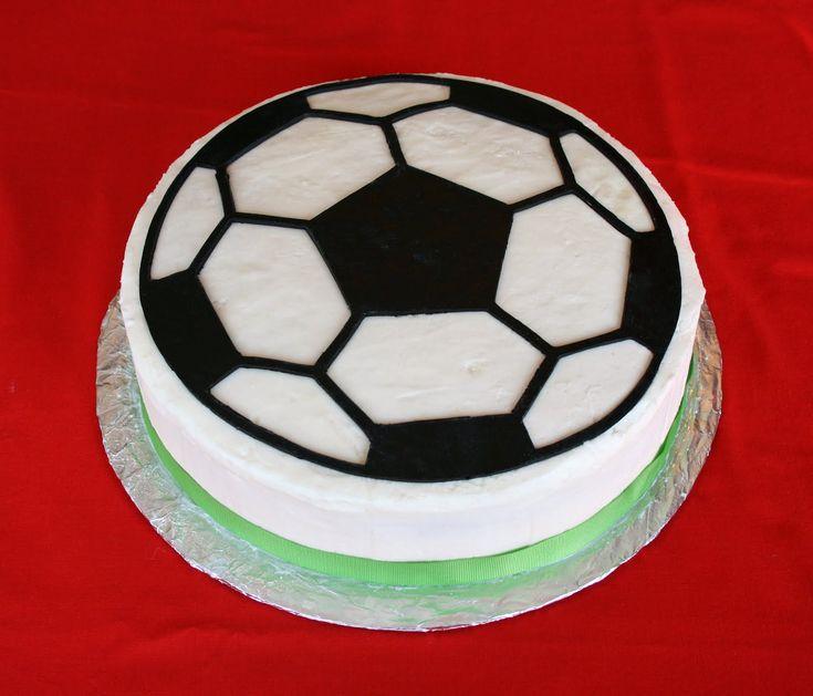 Ballroom Cake Design : soccer ball cake.. Cricut Pinterest