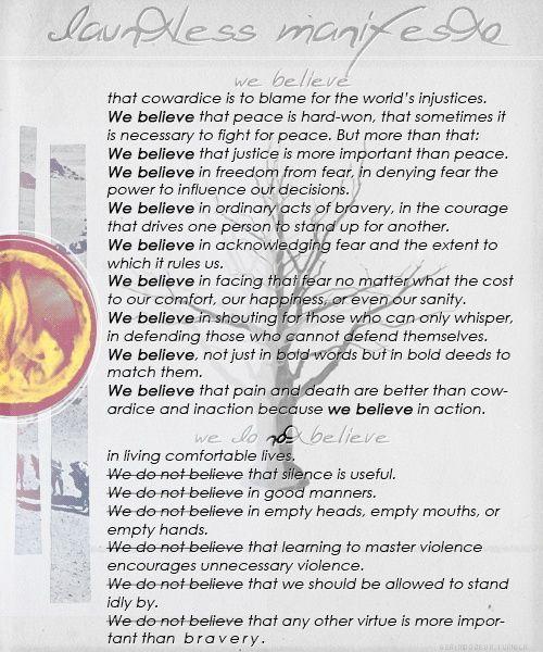 Dauntless Manifesto- I...
