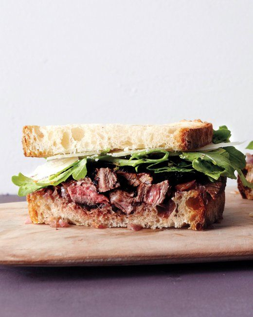 Grilled Steak and Onion Sandwich | Recipe