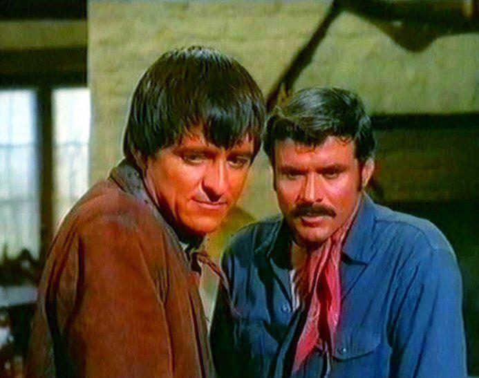 Henry Darrow as Manolito and Bob Hoy as Joe  www.thehighchaparralreunion.com