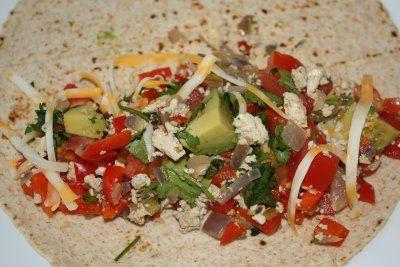 Mexican Tofu Scramble | Vegetarian/Gluten-Free | Pinterest