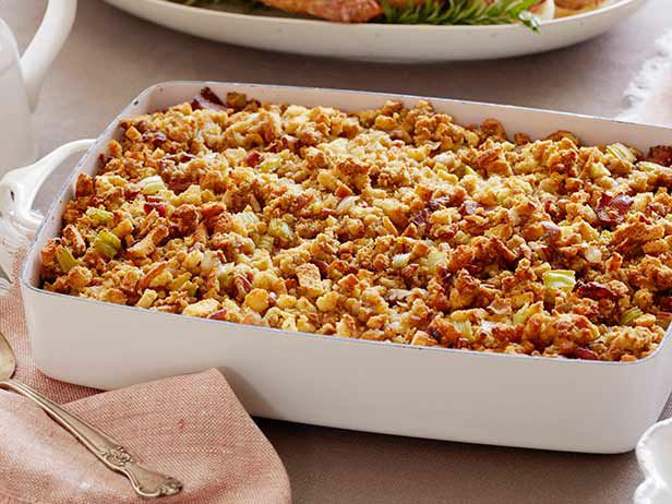 Neely's Holiday Cornbread Stuffing Recipe : Patrick and Gina Neely ...