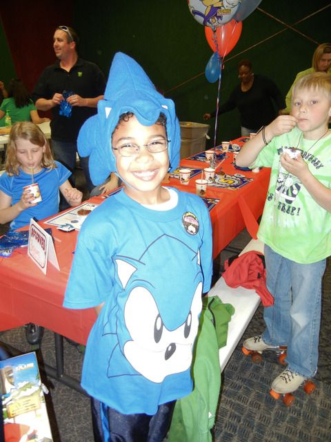 98a976eea1a193c9a0033e0f7608faaf Sonic X Birthday Party Ideas
