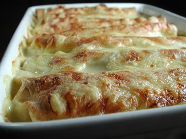 Speedy White Chicken Enchiladas | Recipe