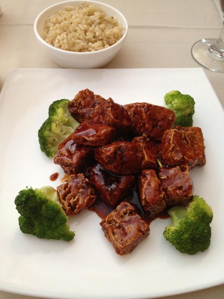 General Tso's Tofu @HongKongFusion | mmm... | Pinterest