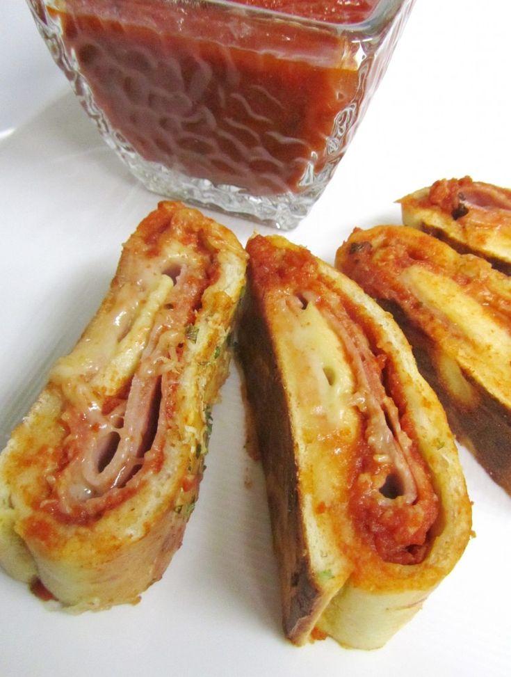 Stromboli | Pizza | Pinterest