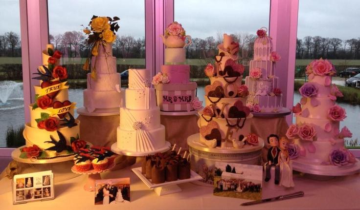 Lots Of Cakes Wedding Ideas Pinterest