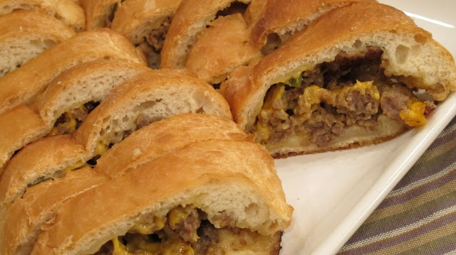 Stuffed Sausage Bread. A new Favorite Family recipe.