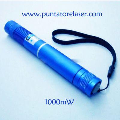 Puntatore laser blu 10000mW pi potente del mondo