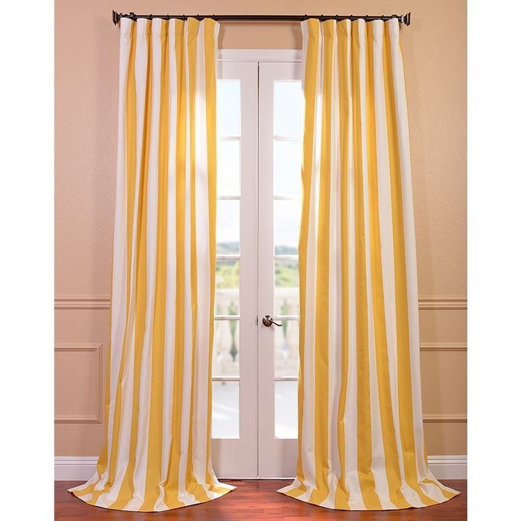 How To Sew A Shower Curtain DIY Striped Curtains