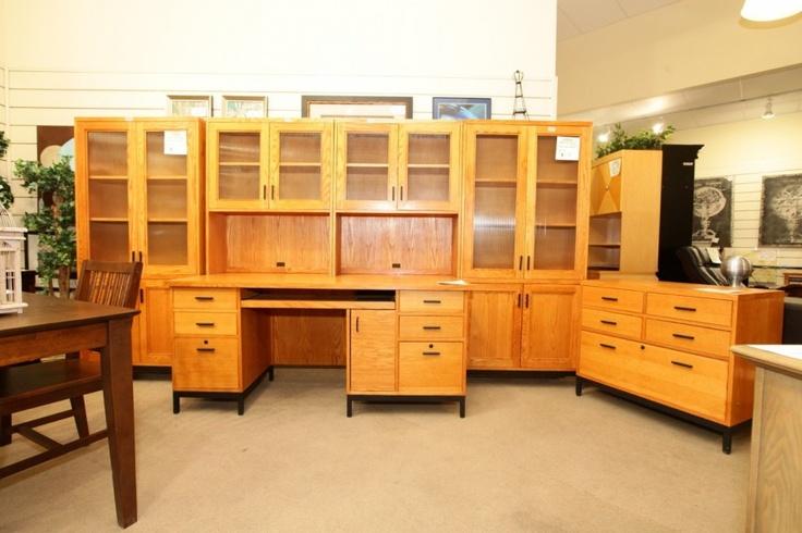 Bookcase & Desk - Colleen's Classic Consignment - Las Vegas, NV