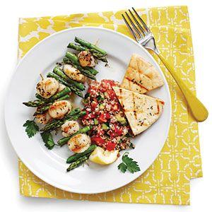 Grilled Scallop Kabobs | MyRecipes.com