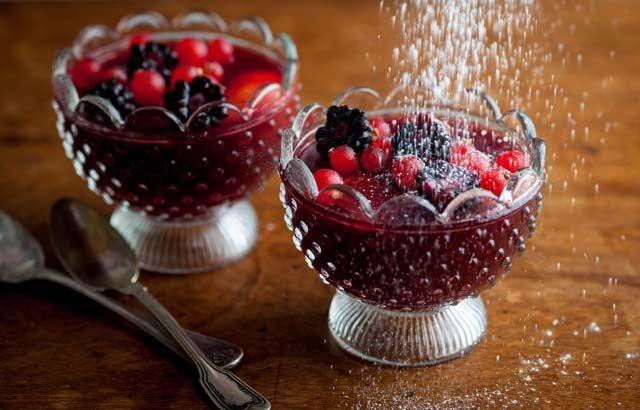 Children's mulled 'wine' jellies | Recipe