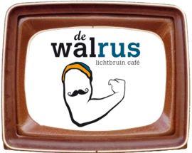 De Walrus, Lichtbruin Café met veggie dagschotels Coupure Links 497, Gent