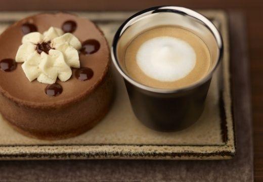 Chocolate cheesecake & Espresso Macchiato