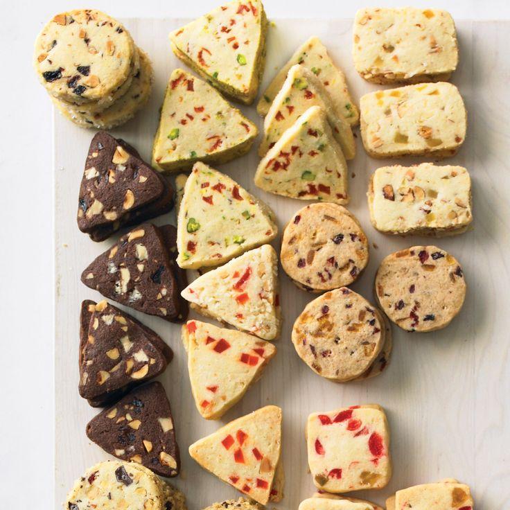 Orange Zest Bars White Chocolate, Hazelnut, and Cherry Triangles ...