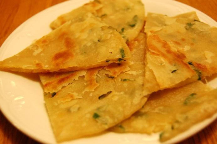 Extra-Flaky Scallion Pancakes Recipe — Dishmaps