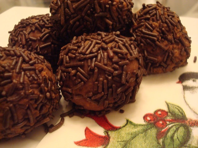 Boozed Up Chocolate Brandy Balls Recipe | Favorite Recipes | Pinterest