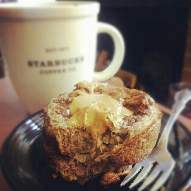PB and Banana Spice Souffle | Breakfast | Pinterest