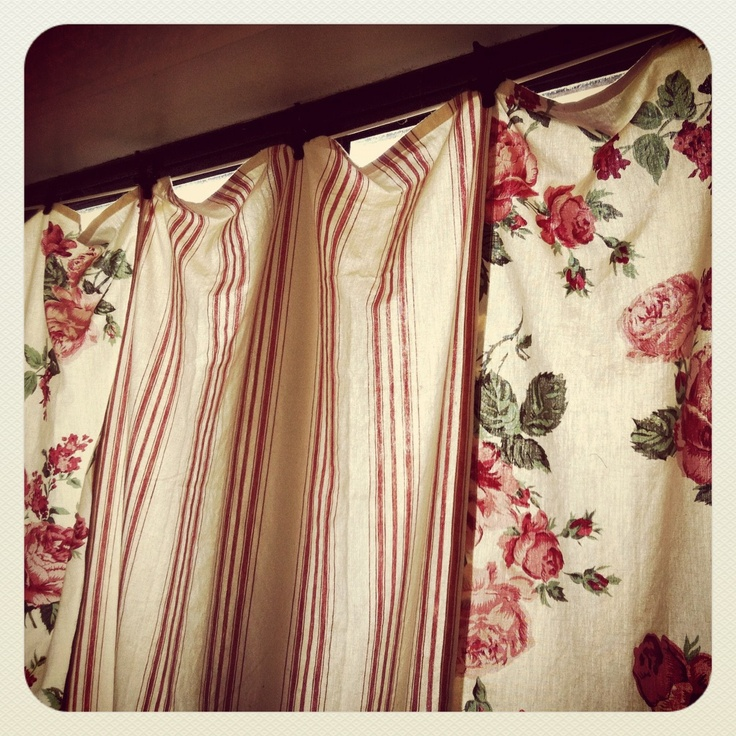 Tea Towel Kitchen Curtains: Curtain And Drapery Styles
