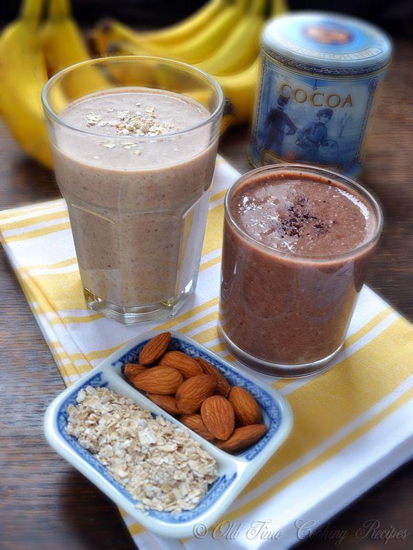Banana Yogurt Oatmeal Smoothie | Recipe